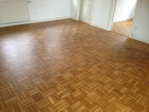 Egetræsgulv gulvbehandling med ultramat gulvlak