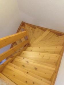 Afslibning af trappe, Ringsted, Gulvafslibning af trapper og gulve, Ringsted